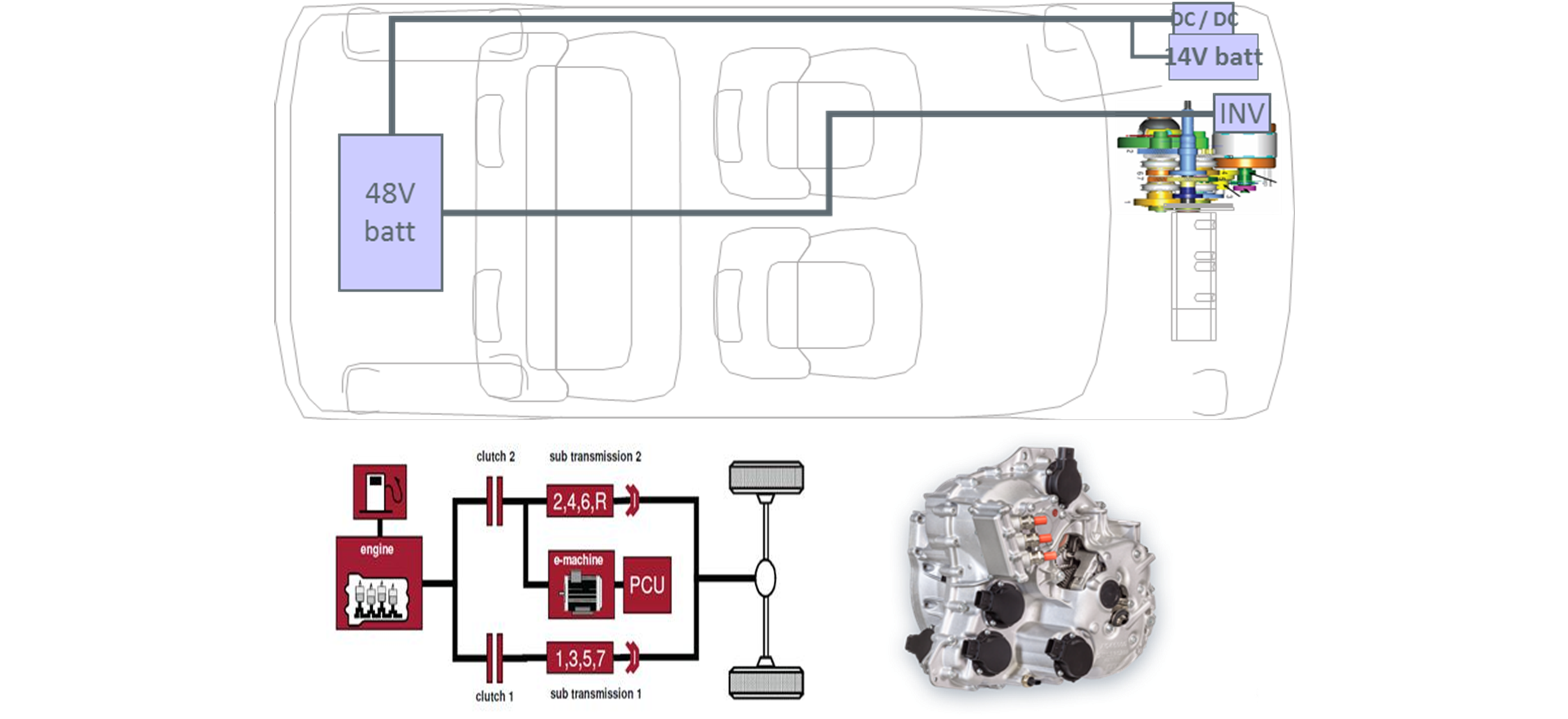 Renault 1 6 Engine Layout